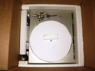 Packing Box For Turntable